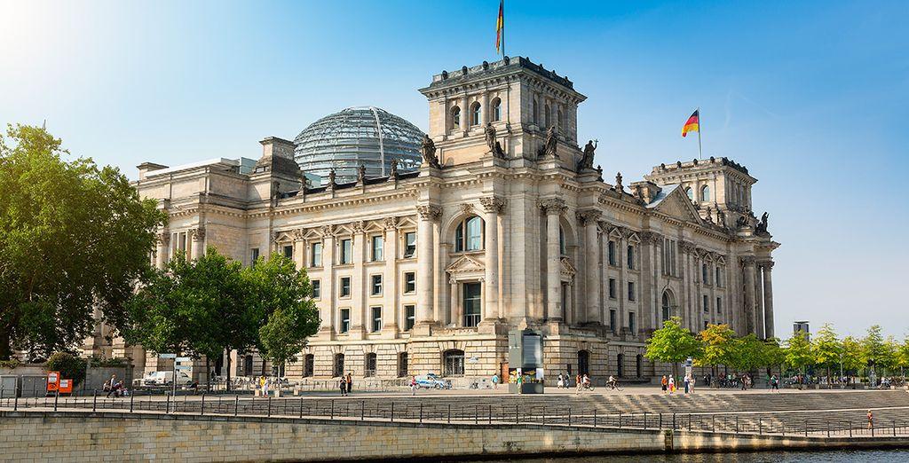 Acércate a visitar el Reichstag, el Parlamento Alemán