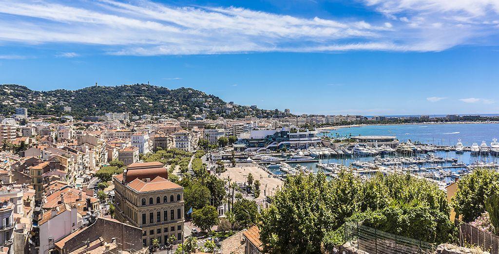 Cannes es una ciudad llena de glamour y estilo. ¡Descúbrala!