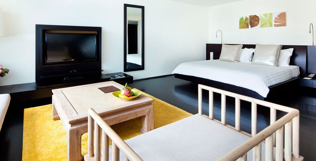 Su habitación Metropolitan con todas las comodidades posibles