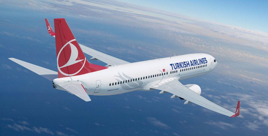 Hemos negociado para ti la mejor opción de precios con Turkish Airlines