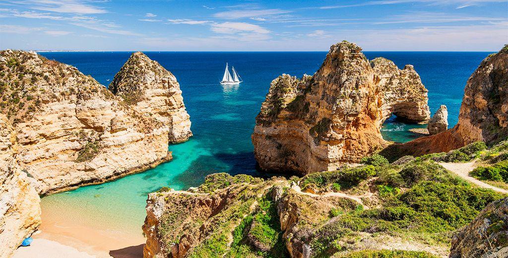 Bienvenido a Lagos, en el Algarve