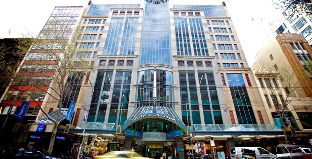 Hotel Novotel Melbourne On Collins 4*