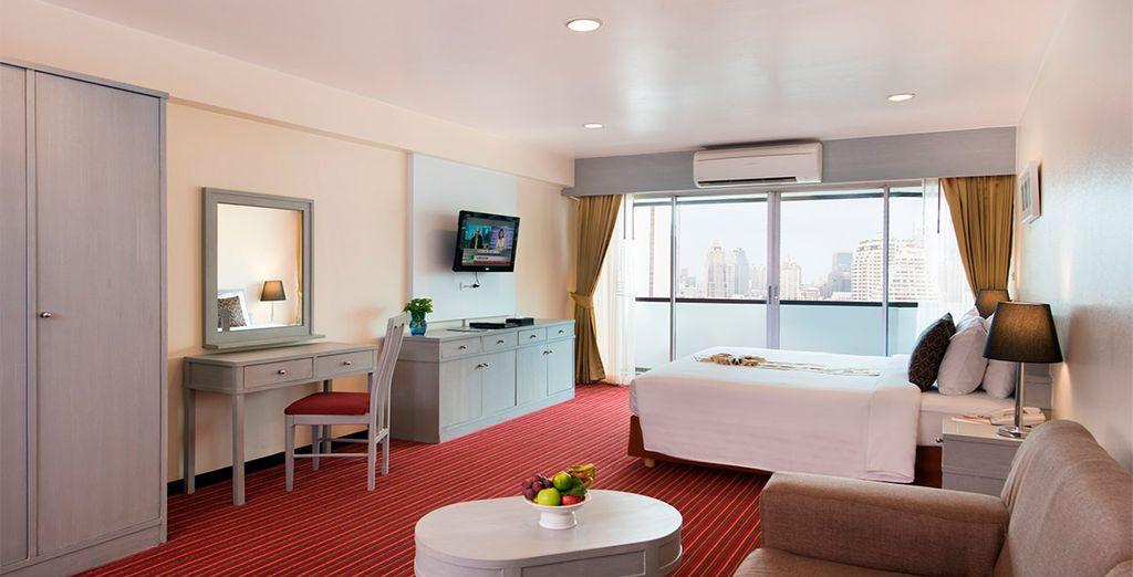 Tu habitación Superior en Furama Silom Hotel 4*