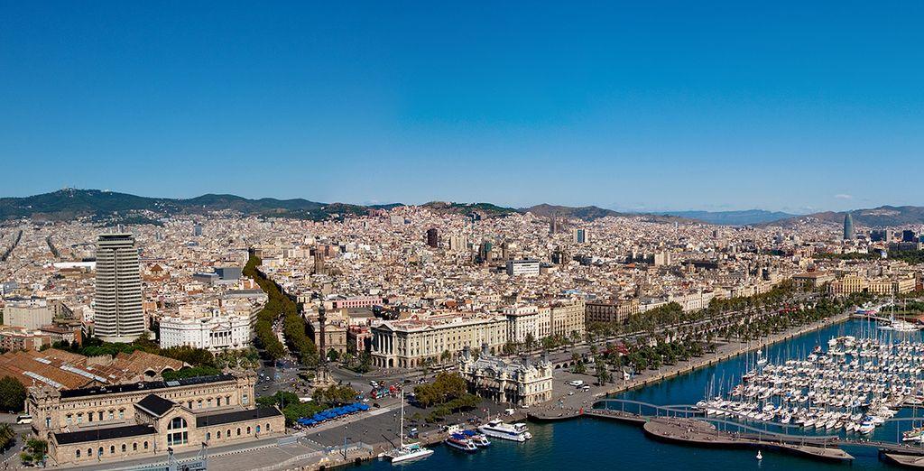 Barcelona es una ciudad cosmopolita que no puede perderse