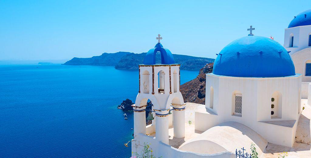 Viajes y vacaciones a Santorini