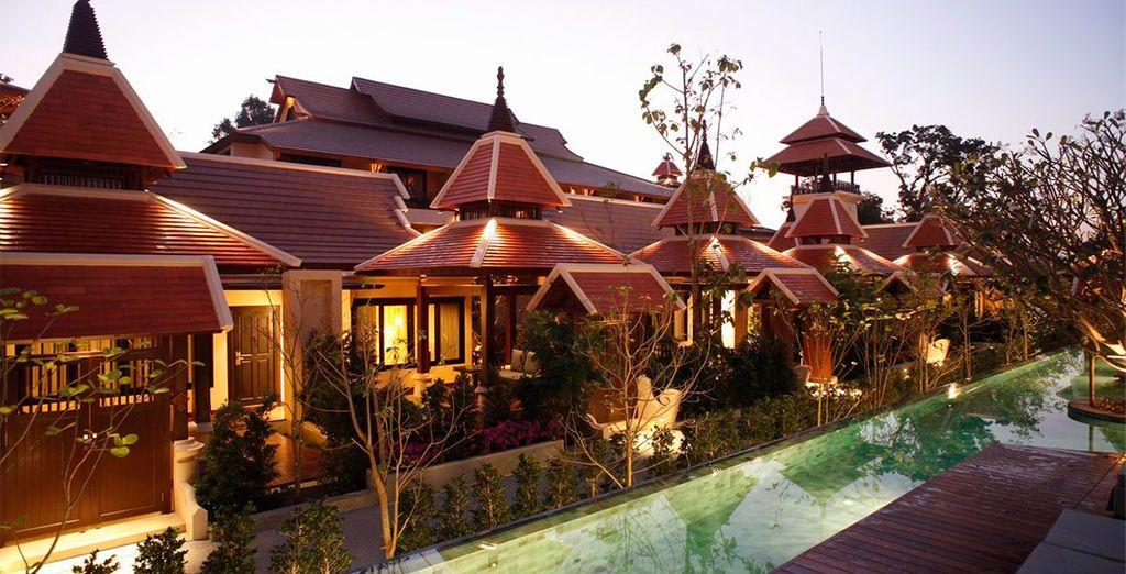 Hotel Siripanna Villa Resort Chiang Mai 5*, tu hotel de categoría Deluxe en Chiang Mai