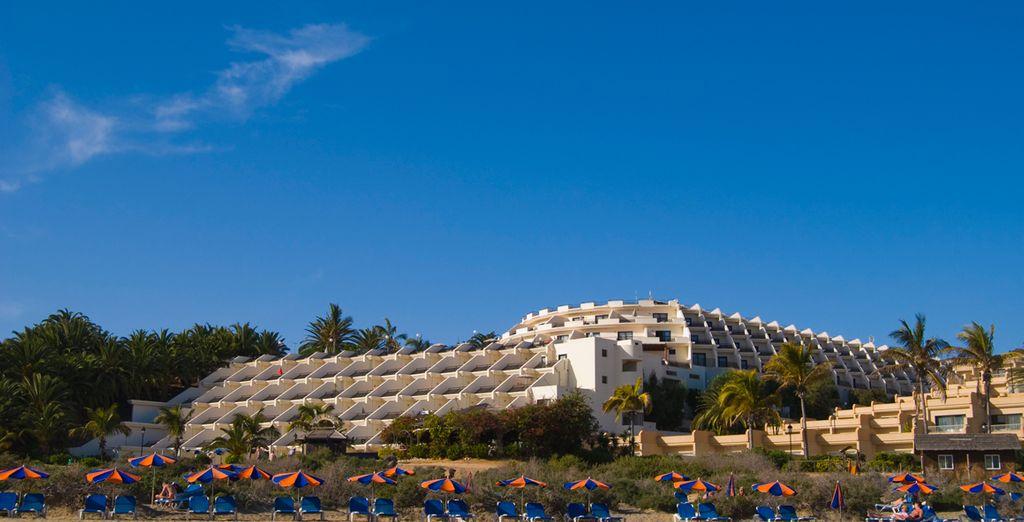 Un hotel ubicado en la Costa de la Calma