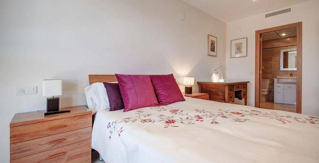 Apartamento 2: la habitación donde descansará
