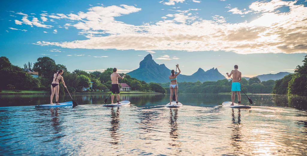 Diviértete con tus amigos con todas las opciones de actividades acuáticas que se pueden realizar