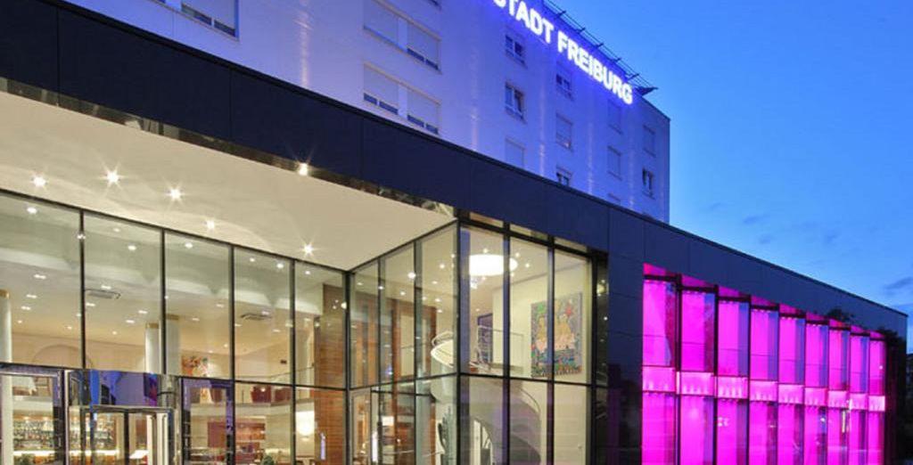 En Friburgo, te alojarás en Hotel Stadt Freiburg 4*