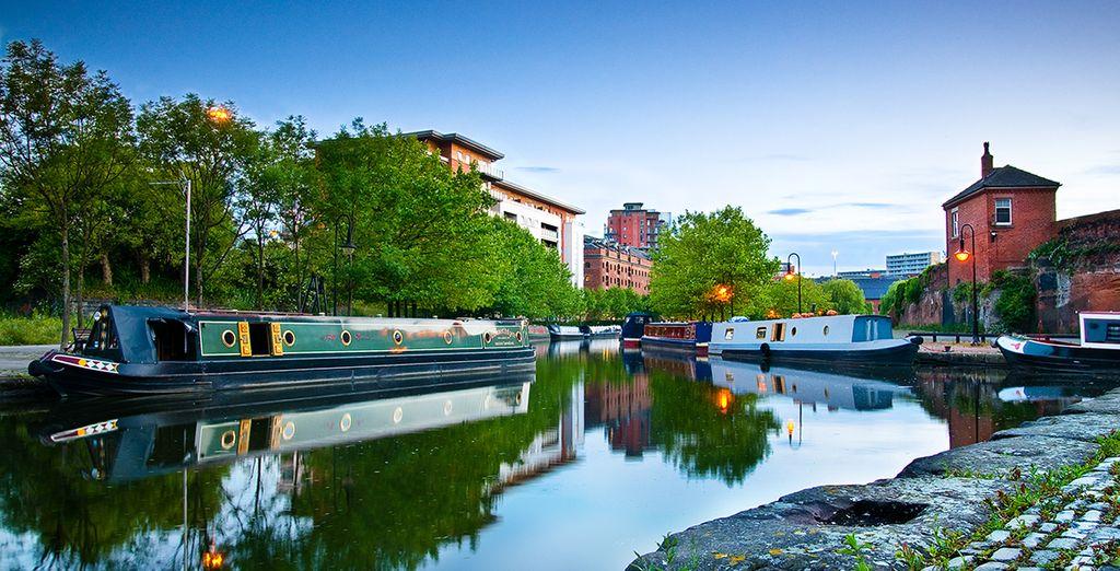 Descubra la famosa ciudad de Manchester