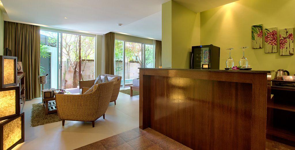 Descanse en su Villa con jardín y piscina privada, Elements Boutique