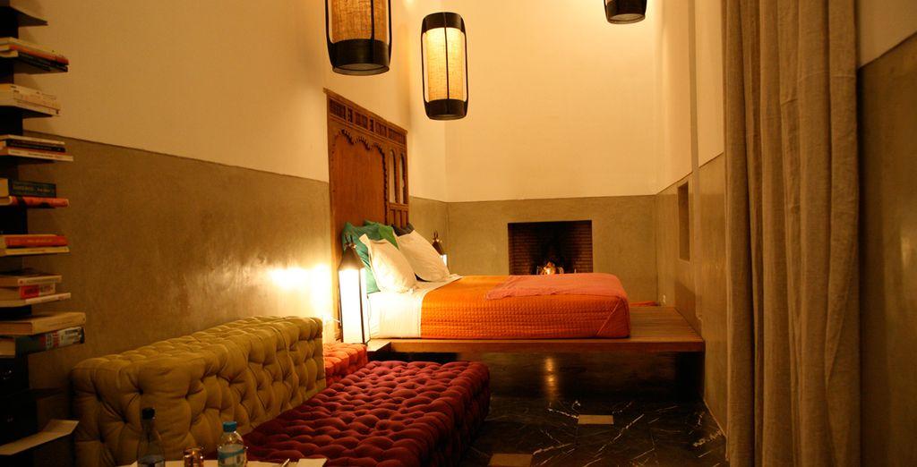 Cada Suite cuenta con una decoración diferente pero siguiendo un mismo estilo
