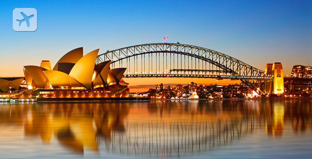 Bienvenido a su viaje excepional a Australia. Para empezar, conozca Sydney...
