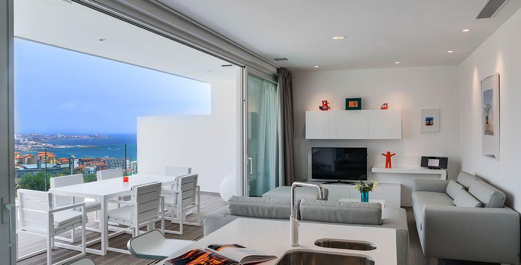 Unas vacaciones perfectas en una Suite de lujo