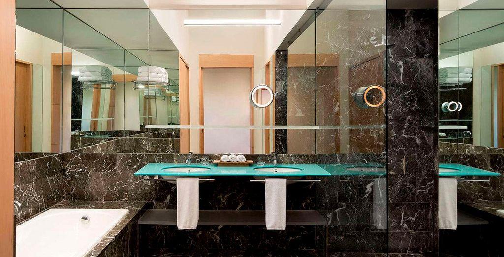 Y donde dispondrás, además, de un equipado baño propio