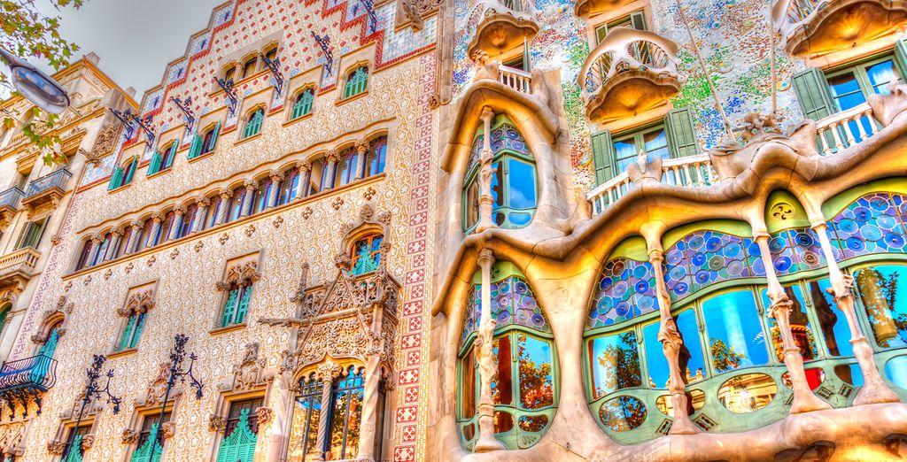 Descubre los edificios modernistas