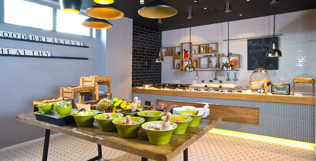 El restaurante temático Wok Around the World sirve cocina del este de Asia