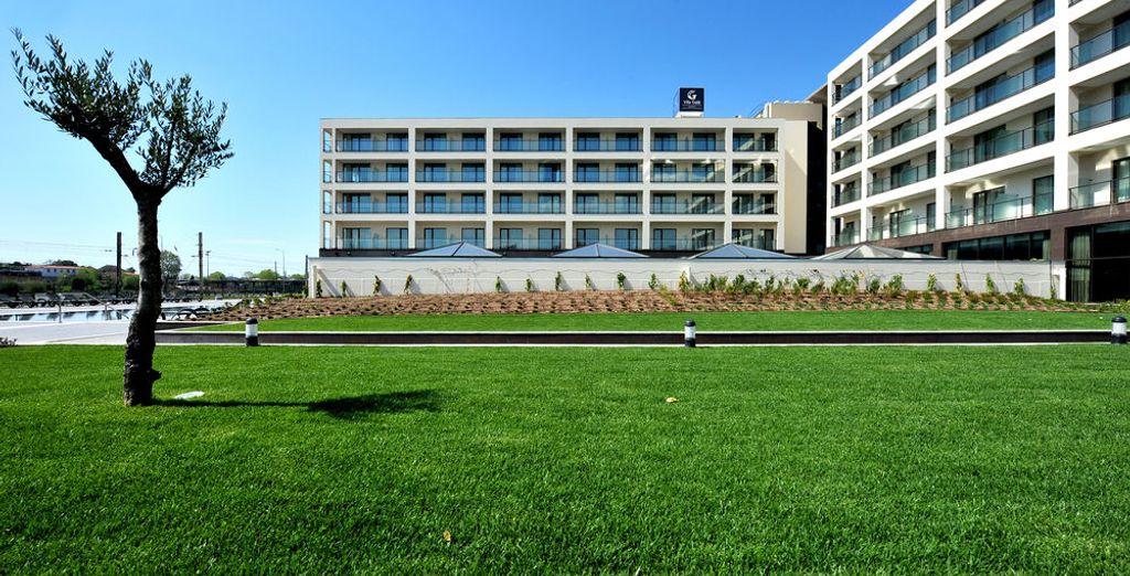 Un hotel moderno