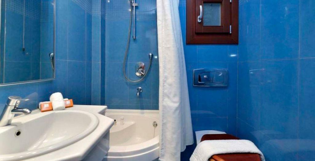 Baños completos para su estancia