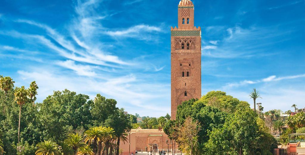 Enamórese de Marrakech
