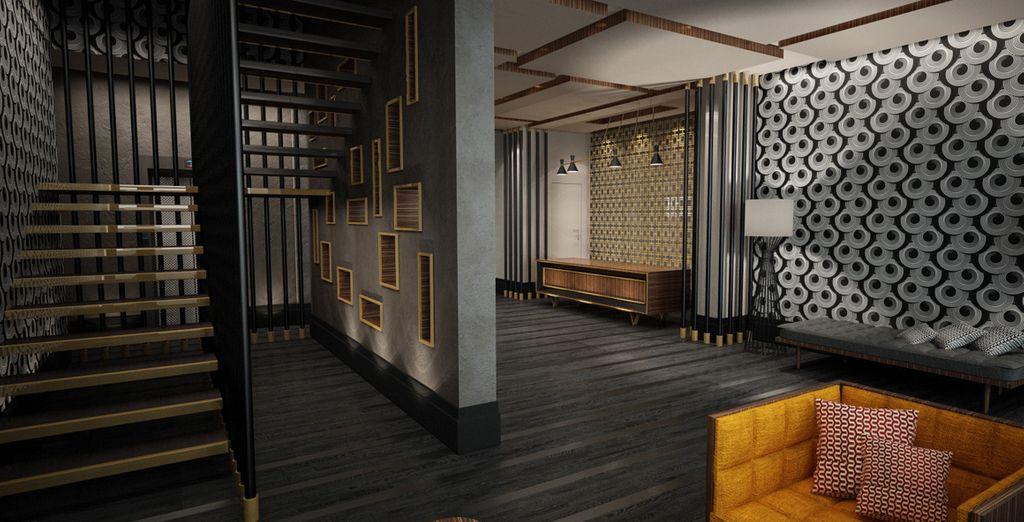 Ambiente íntimo y acogedor, donde la elegancia y el estilo se combinan con el confort máximo
