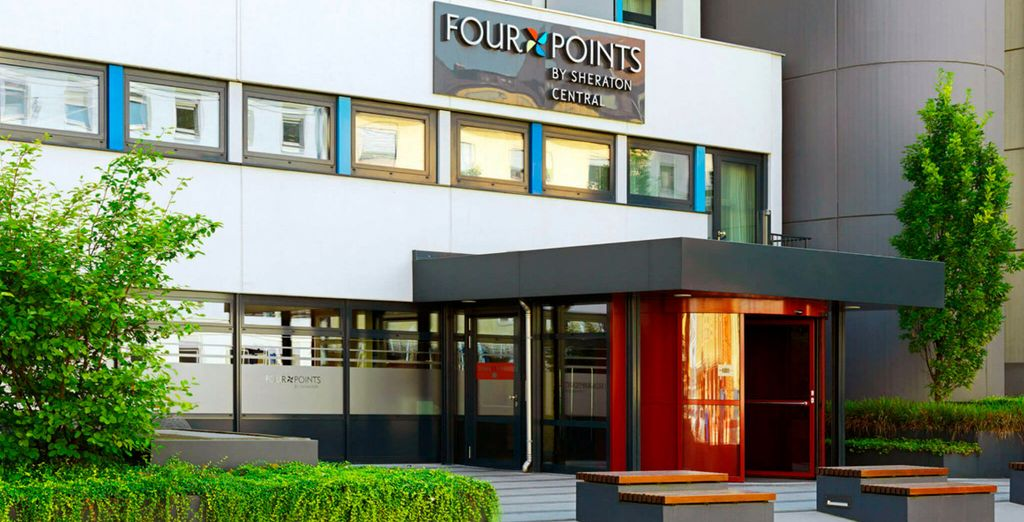 Pasarás tu estancia en Four Points by Sheraton Central 4*