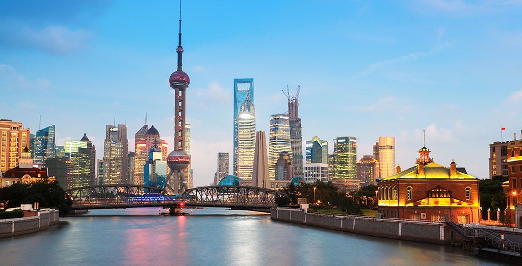 Adéntrese en la espectacular Shanghai