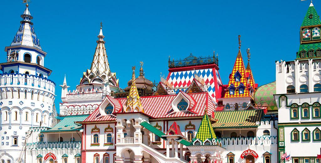 Quedará maravillado con la arquitectura del Kremlin