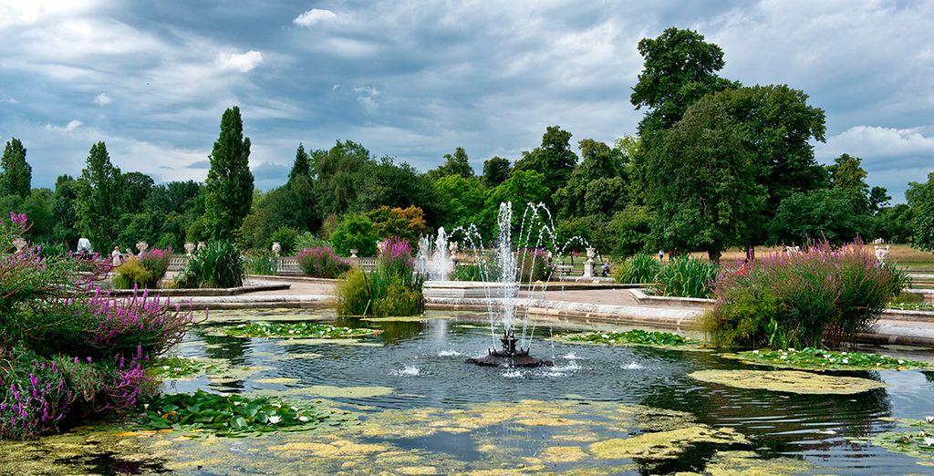 Podrá disfrutar de la vista y los sonidos de Hyde Park y Notting Hill