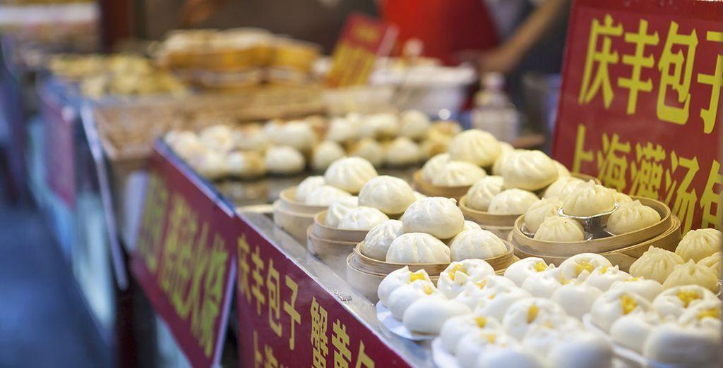 La gastronomía china te sorprenderá