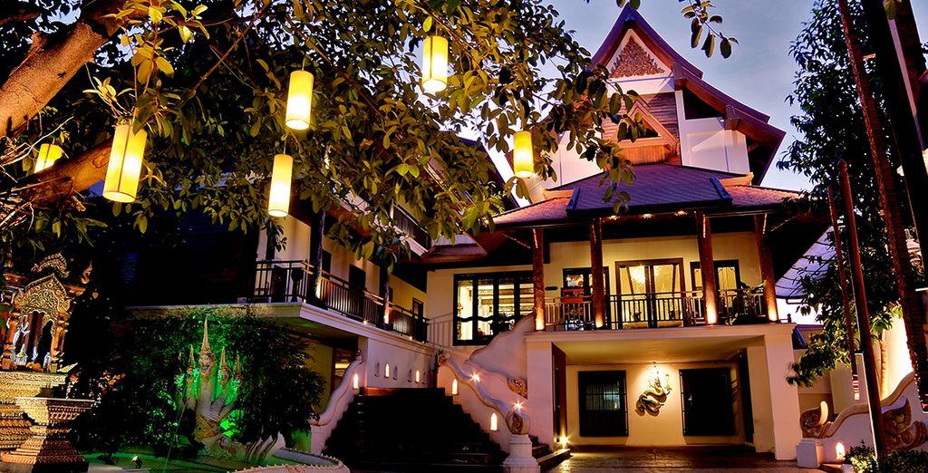 Bienvenido al De Naga Hotel Chiang Mai
