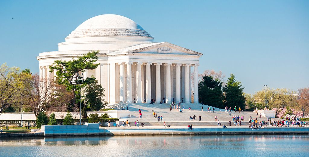 El bello Memorial Jefferson