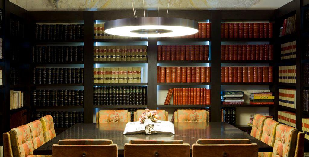 Desconecta en la biblioteca