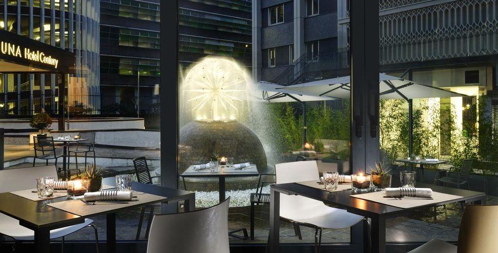 Reserva UNA Hotel Century 4* para unos fantásticos días en Milán