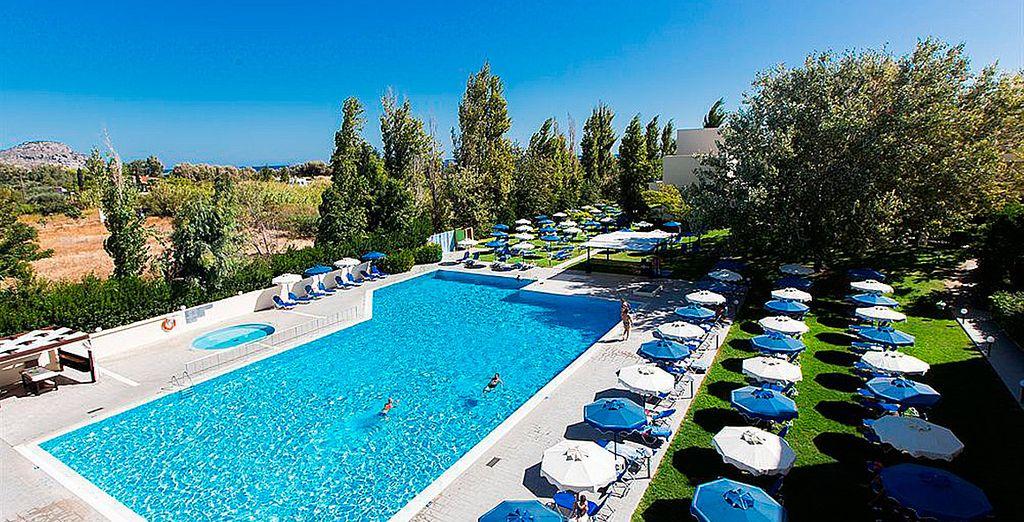 Dessole Lippia Golf Resort 4*, su lugar de vacaciones en la isla de Rodas