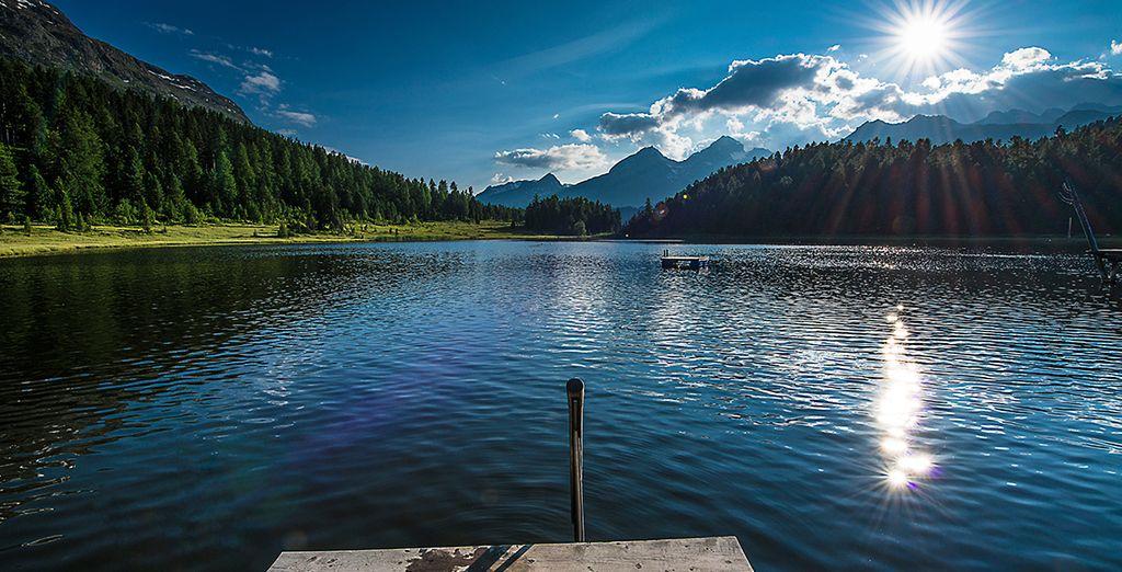 Et vous émerveillerez devant la beauté estivale de la nature Suisse