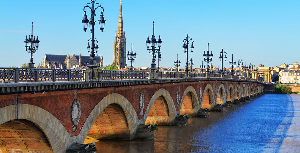 Photographie de la ville de Bordeaux en France
