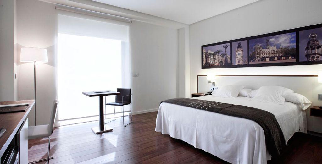 En chambre Double, spacieuse et lumineuse ?