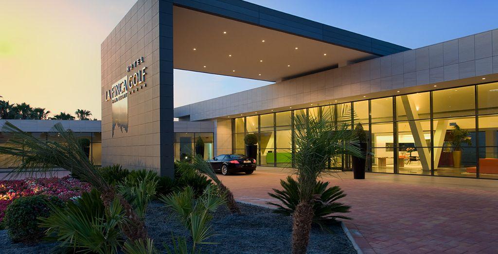 Un établissement au cadre architectural design... - Hôtel La Finca Golf & Spa Resort 5* Algorfa