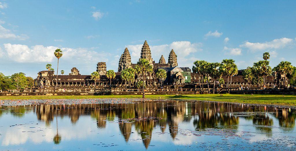 Vous serez tout près du site archéologique d'Angkor