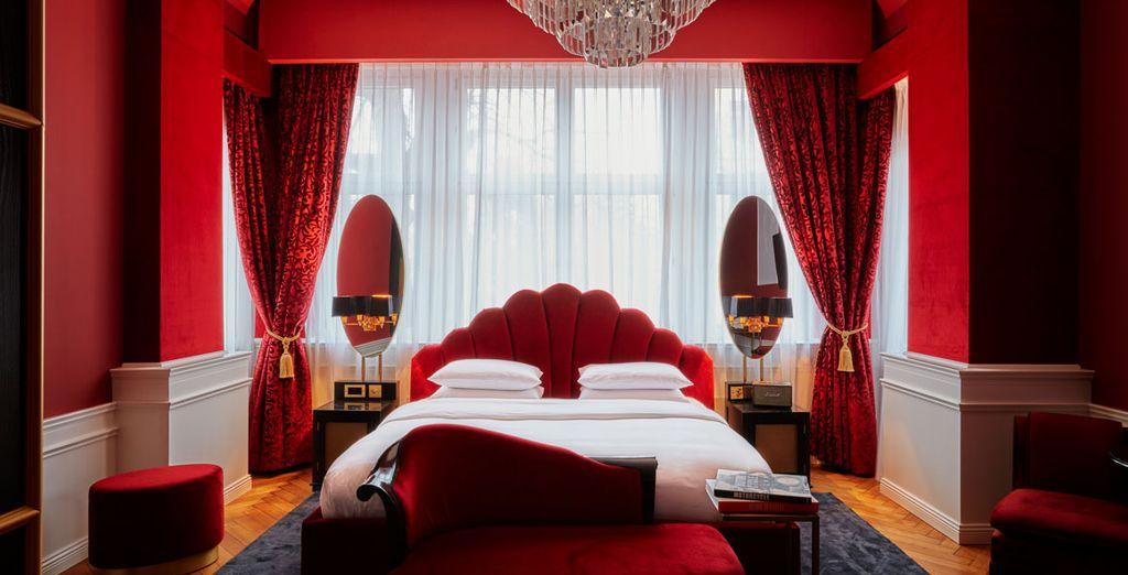 Hôtel de luxe quatre étoiles à Berlin confortable et spacieux