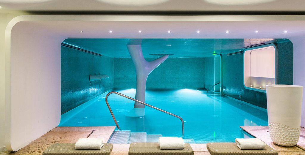 Hôtel Boscolo Exedra Nice 5* et son magnifique spa