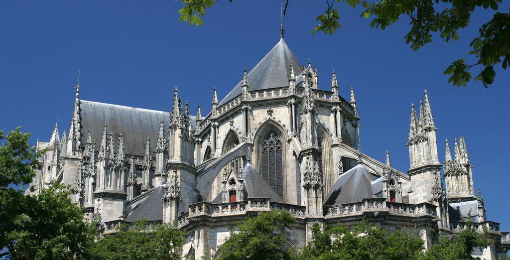 Photographie de la cité des ducs à Nantes