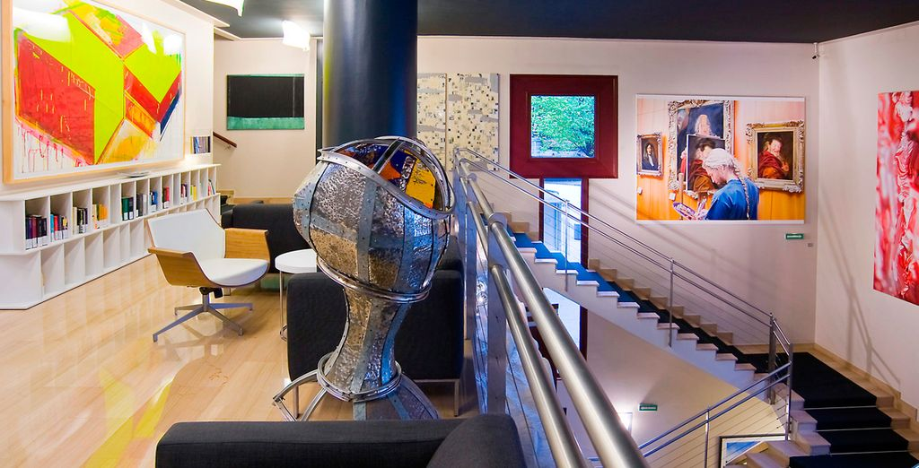 Offrez-vous une escapade tendance et arty...  - Hôtel Silken Amara Plaza 4* San Sebastian