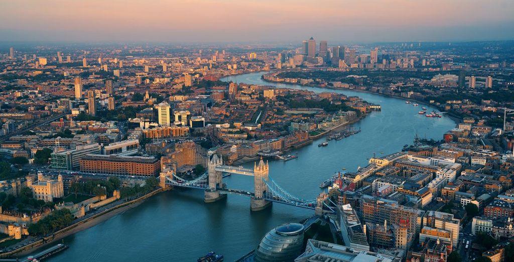 Panorama de la ville de Londres