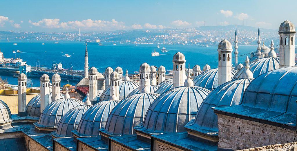 Laissez-vous envoûter par Istanbul...