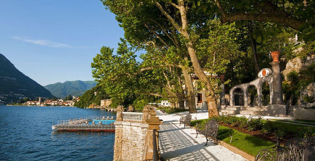 Vous ne vous lasserez pas de contempler toute la beauté du lac