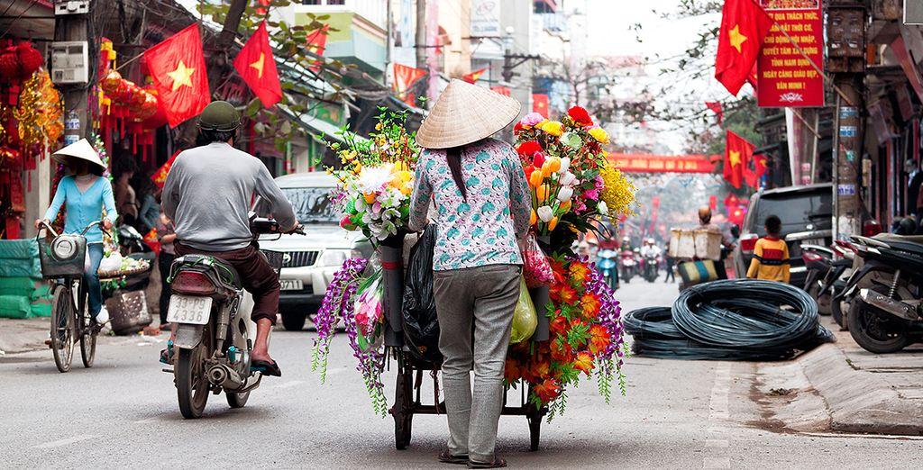 Avant de terminer ce merveilleux séjour, à Hanoi