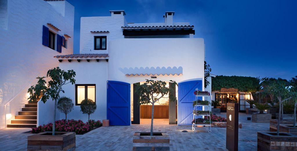 De cette jolie station balnéaire sur la belle île de Formentera